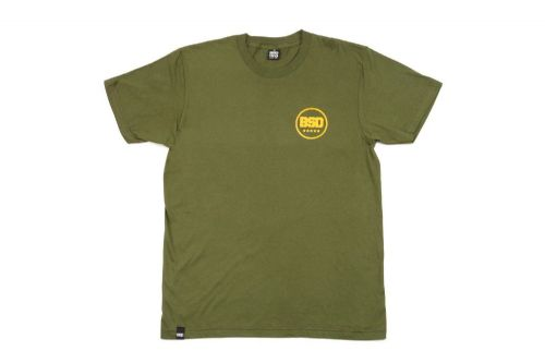 BSD Fully Roasted T-Shirt - Surplus Green - Large